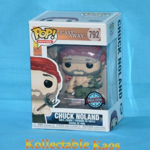 Cast Away - Chuck Noland with Spear Crab Pop! Vinyl Figure
