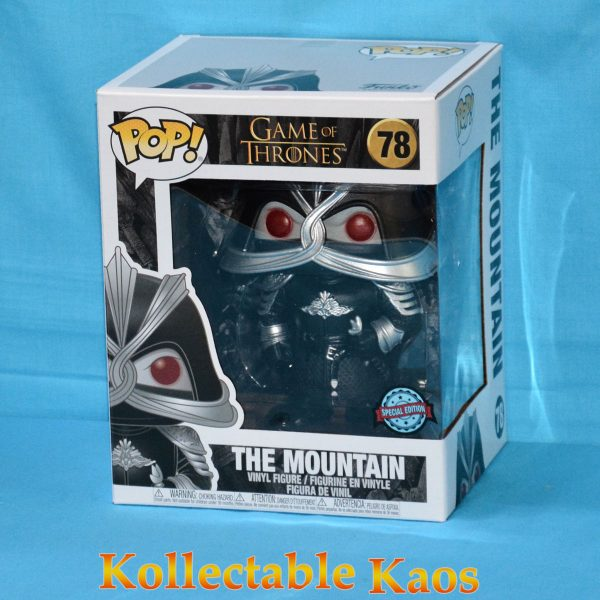 Game of Thrones - The Mountain Masked Pop Vinyl