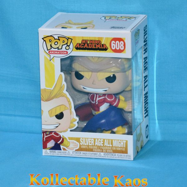 My Hero Academia - All Might Silver Age Pop! Vinyl Figure