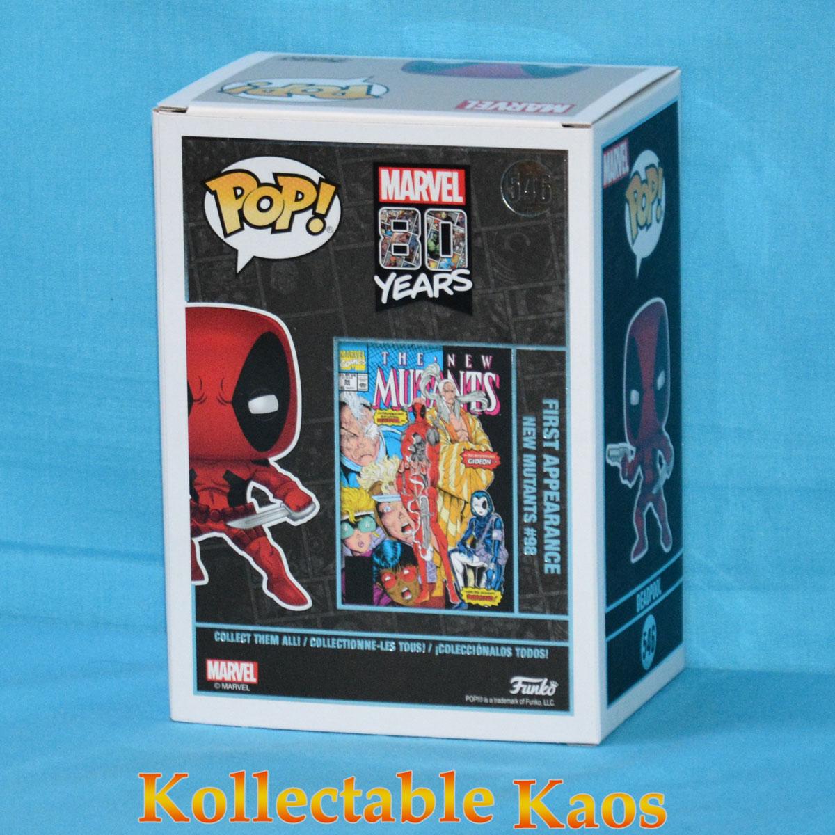 Vinyl-FUN44154-Funko Deadpool First Appearance Marvel 80th Anniversary Pop