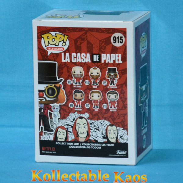 La Casa de Papel (Money Heist) - El Profesor Pop! Vinyl Figure