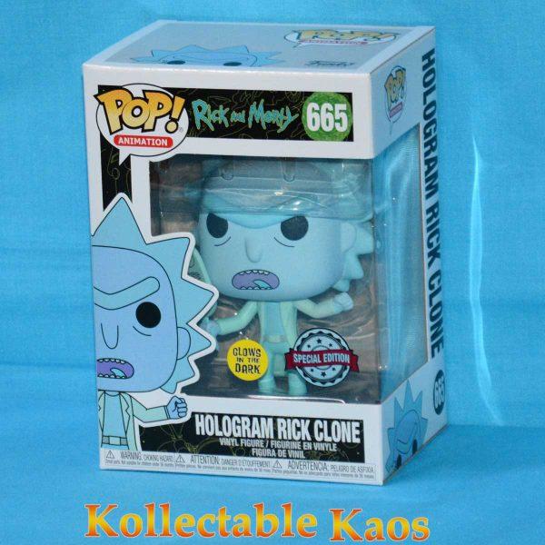 Rick and Morty - Hologram Rick Glow in the Dark Pop! Vinyl Figure