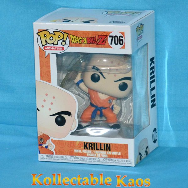 Dragon Ball Z - Krillin with Destructo Disc Pop! Vinyl Figure #706