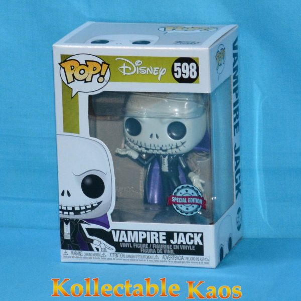 The Nightmare Before Christmas - Vampire Jack Metallic Pop! Vinyl Figure