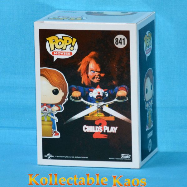 Child's Play 2 - Chucky with Giant Scissors & Jack in the Box Pop! Vinyl Figure