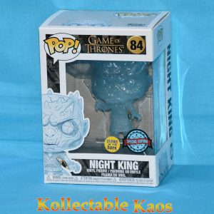 Game of Thrones - Crystal Night King with Dagger Glow in the Dark Pop
