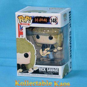 Def Leppard - Rick Savage Pop! Vinyl Figure #148