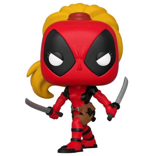 Deadpool - Lady Deadpool 80th Anniversary Pop! Vinyl Figure