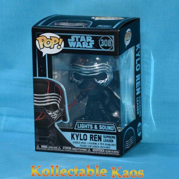 Star Wars Episode IX - Kylo Ren Light Up & Sound Electronic Pop! Vinyl Figure