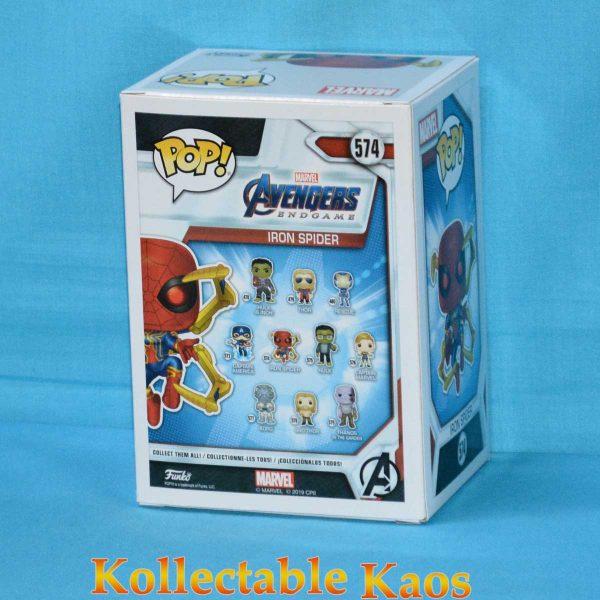 Avengers 4: Endgame - Iron Spider with Nano Gauntlet Pop! Vinyl Figure