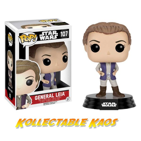 Star Wars Episode VII: The Force Awakens - General Leia Pop! Vinyl Figure
