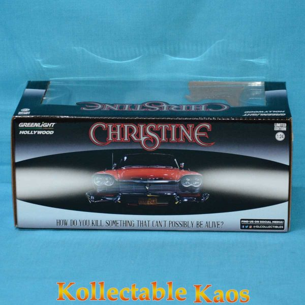 1:24 Greenlight - Evil Christine (1983) - 1958 Plymouth Fury with Blacked out Windows