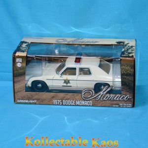 1:24 Greenlight - 1975 Dodge Monaco Police Hazzard County Sheriff