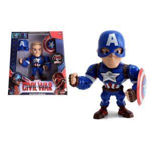 "Captain America: Civil War - Captain America 15cm(6"") Metals Die-Cast Action Figure"