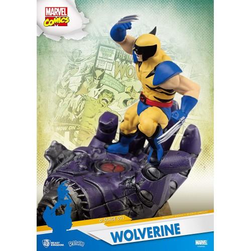 Diorama Stage - Marvel Comics - Wolverine