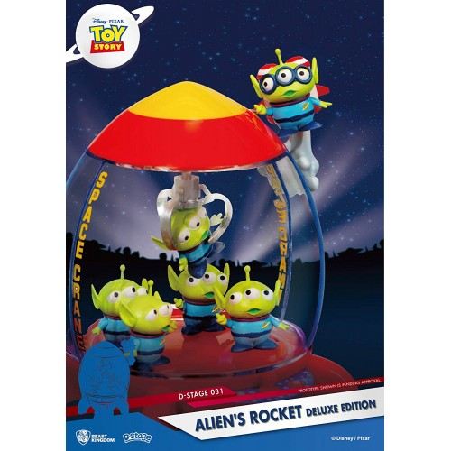 Diorama Stage - Toy Story - Alien's Rocket Deluxe Edition