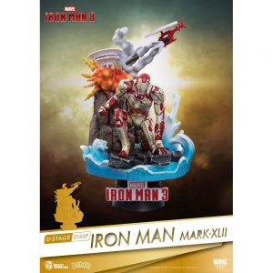 Diorama Stage - Marvel Avengers - Iron Man 3 - Iron Mark XLII