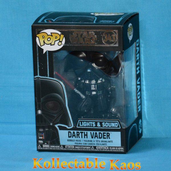 Star Wars - Darth Vader Light Up & Sound Electronic Pop! Vinyl Figure