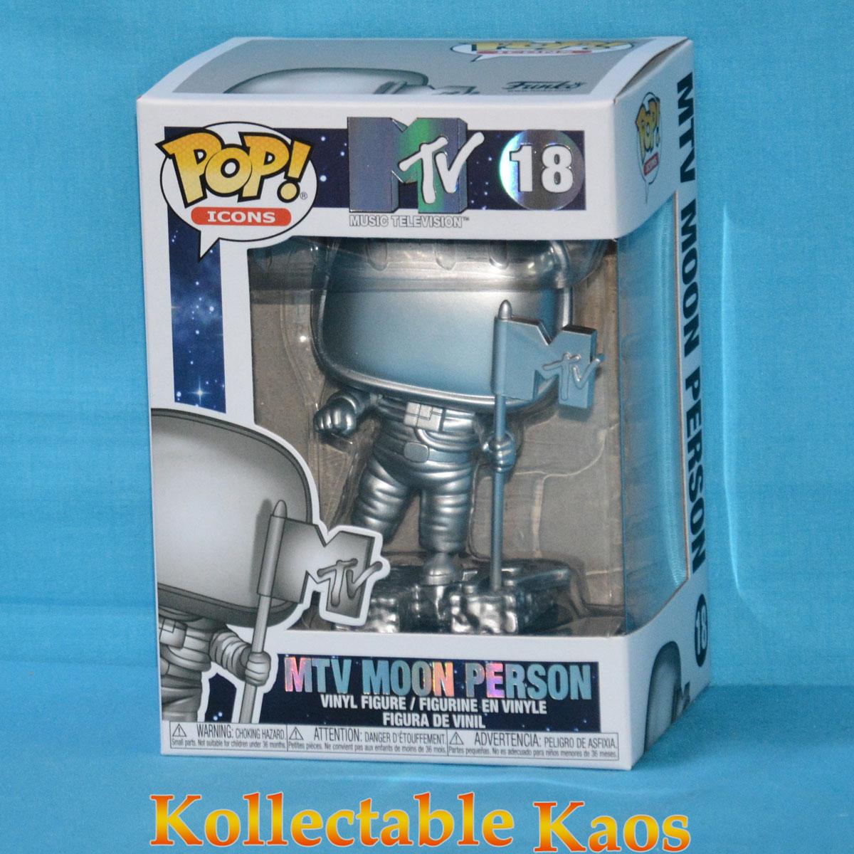 Funko Pop icone music television MTV Moon Man Figura in vinile #18
