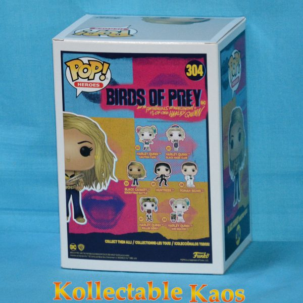 Birds of Prey (2020) - Black Canary Boobytrap Battle Pop! Vinyl Figure