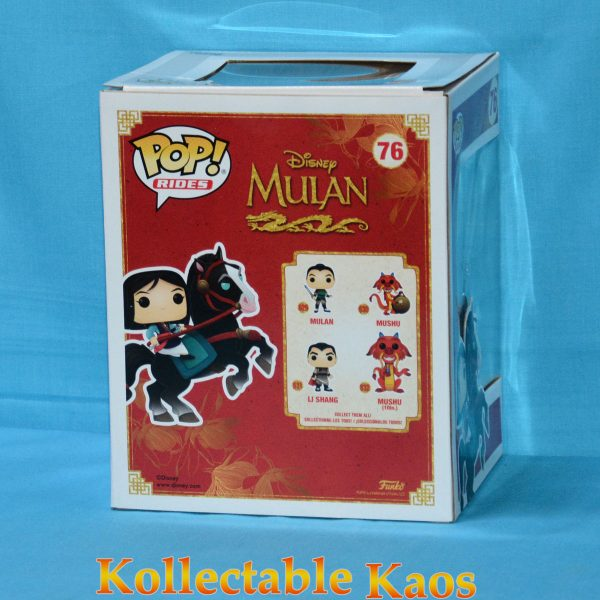 Mulan - Mulan Riding Khan Pop! Rides Vinyl Figure