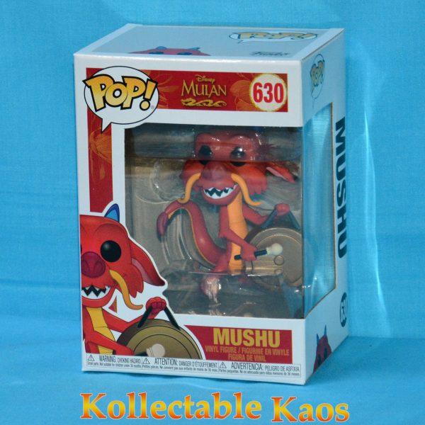 Mulan - Mushu with Gong Pop! Vinyl Figure