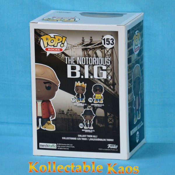 Notorious B.I.G. - Notorious B.I.G. with Champagne Pop! Vinyl Figure