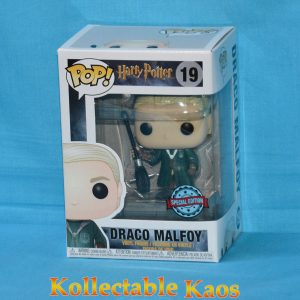 Harry Potter - Draco Malfoy Quidditch Pop! Vinyl Figure