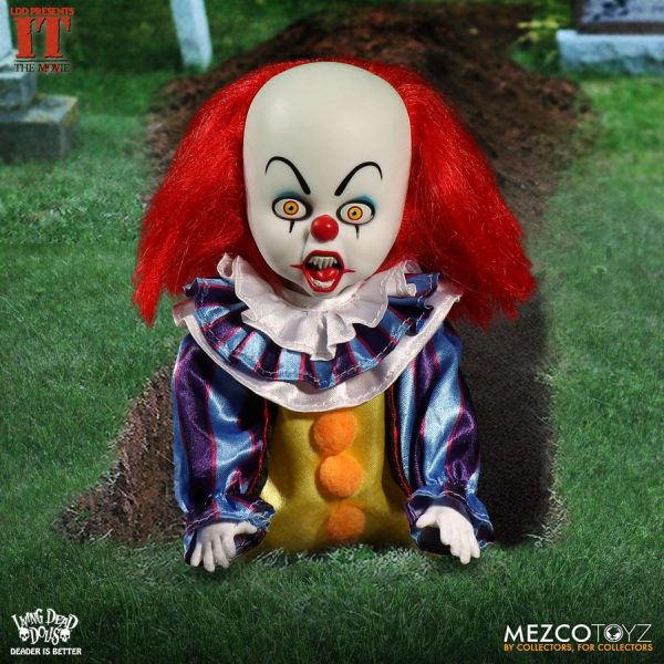"""Living Dead Dolls - IT (1990) Pennywise 25cm(10"""") Doll"""