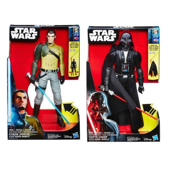 Star Wars Rebels - Kanan Jarrus & Darth Vader 30cm Action Figure Twin pack