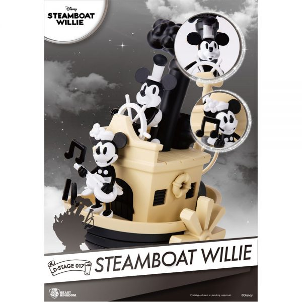 Diorama Stage - Disney - Steamboat Willie Mickey Mouse