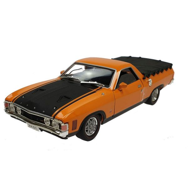 1:32 Oz Legends - Ford Falcon XA GT Ute - Yellow Fire