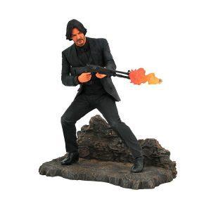 "John Wick: Chapter 2 - John Wick Catacombs 22cm(9"") Gallery PVC Diorama Statue"