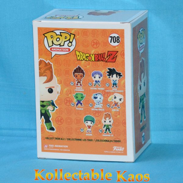 Dragon Ball Z - Android 16 Metallic Pop! Vinyl Figure