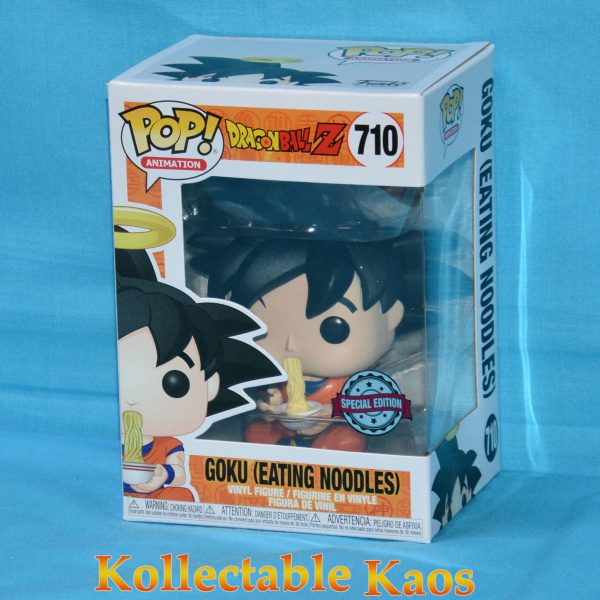 Dragon Ball Z - Goku Eating Noodles Pop! Vinyl Figure