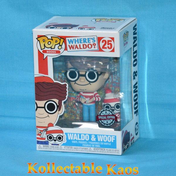 Where's Waldo? - Wally with Woof Pop! Vinyl Figure