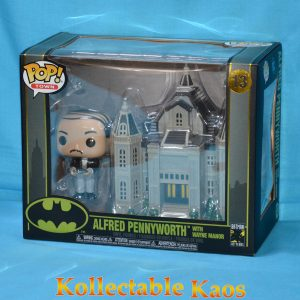 Batman - Alfred with Wayne Manor Pop! Town Vinyl Figure