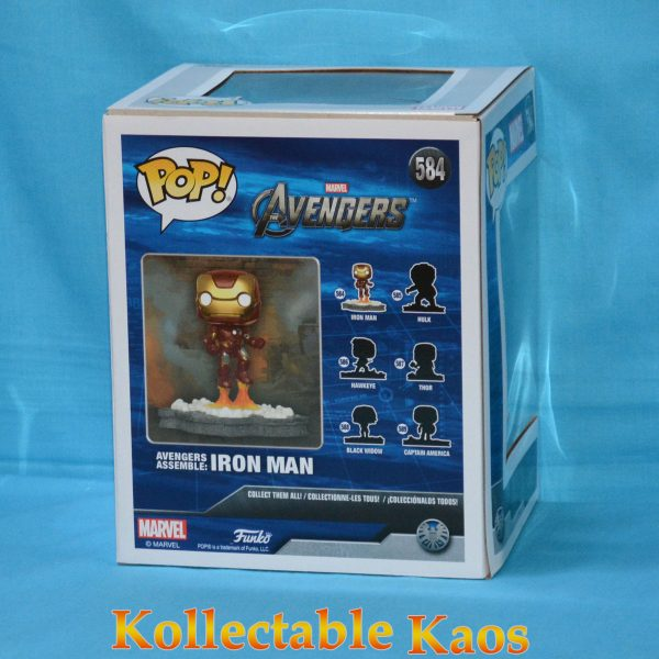 The Avengers - Iron Man Avengers Assemble Diorama Deluxe Pop! Vinyl Figure