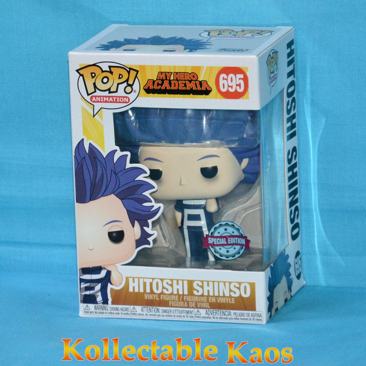 Vinyl Figure My Hero Academia Hitoshi Shinso Pop