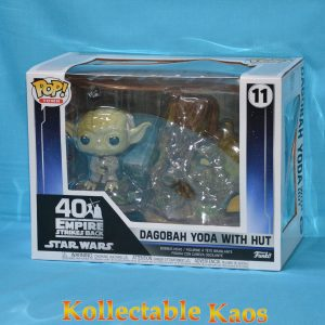 Star Wars - Dagobah Yoda with Hut Pop! Town Vinyl Figure