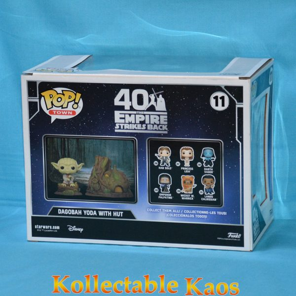 Star Wars - Dagobah Yoda with Hut Pop! Town Vinyl Figure