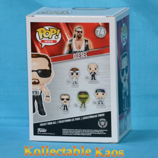WWE - Diesel Pop! Vinyl Figure