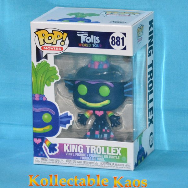 Trolls World Tour - King Trollex Pop! Vinyl Figure