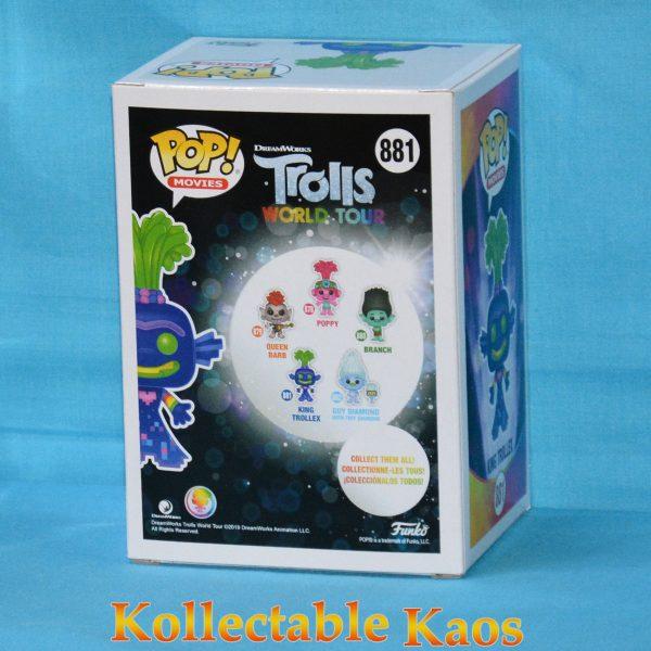 Trolls World Tour - King Trollex Glow in the Dark Pop! Vinyl Figure
