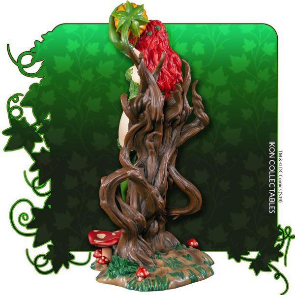 Batman - Poison Ivy on Vine Throne with Killer Flower Statue