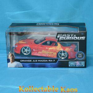 1:24 Jada - Fast & Furious - Julius Orange JLS Mazda RX-7