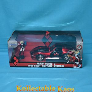 1:24 Jada - Harley Quinn - 1969 Corvette Stingray Hollywood Ride