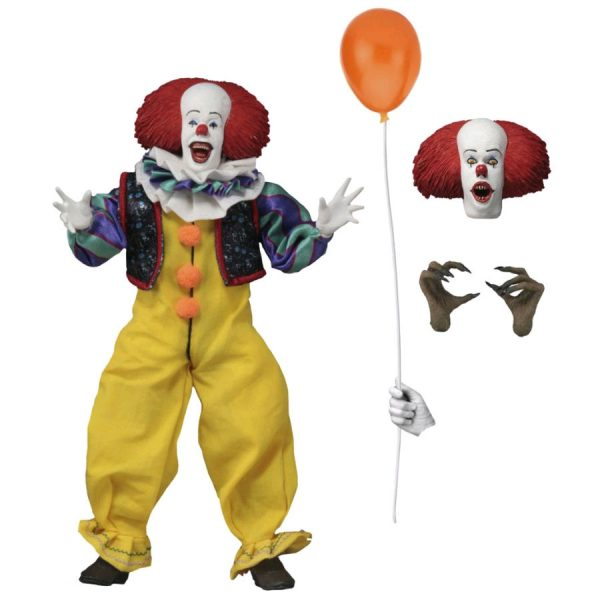 """It (1990) - Pennywise Clothed 20cm(8"""") Action Figure"""
