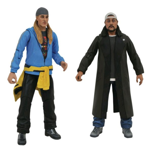 "Jay and Silent Bob Reboot - 7"" Scale Action Figure Set of Two"