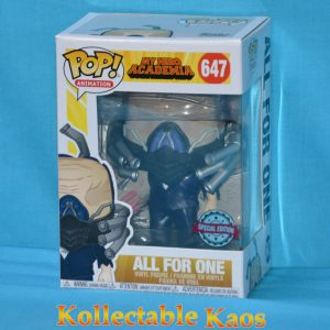 My Hero Academia - All for One Charged Pop! Vinyl Figure